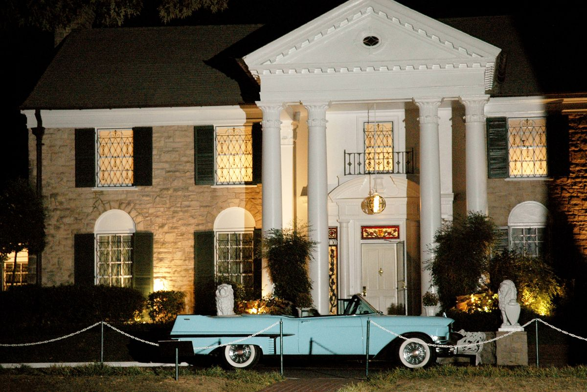 Graceland Mansion in Memphis