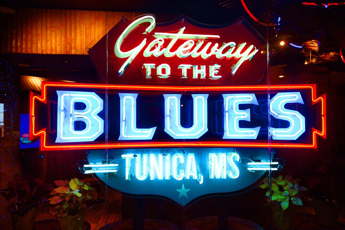 Gateway to the Blues Museum & Visitors Center in Tunica