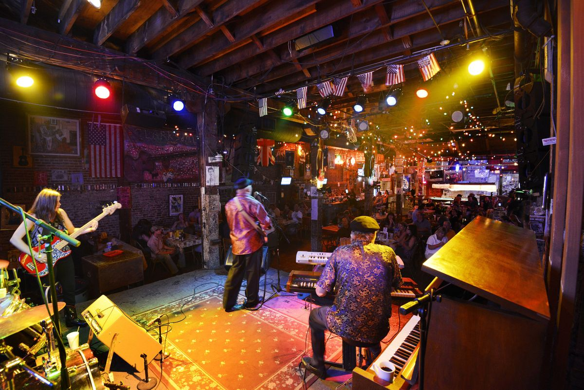 Im Ground Zero Blues Club, Clarksdale